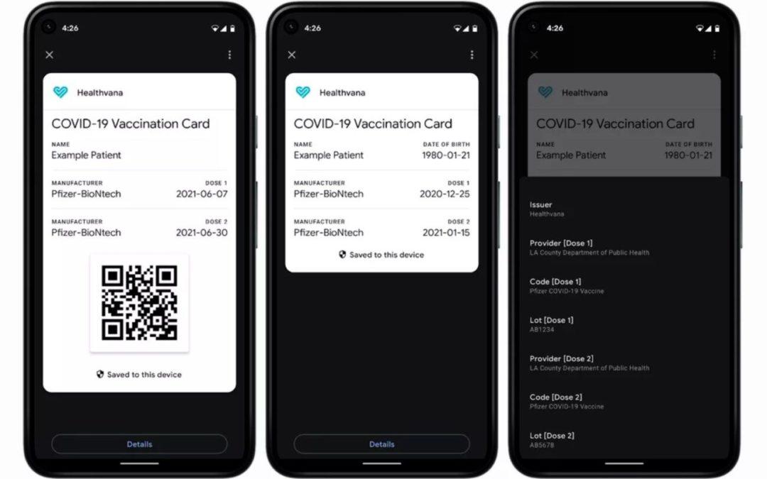 Comment ajouter le pass sanitaire dans Google Pay et l'avoir en 1 clic sur votre smartphone Android
