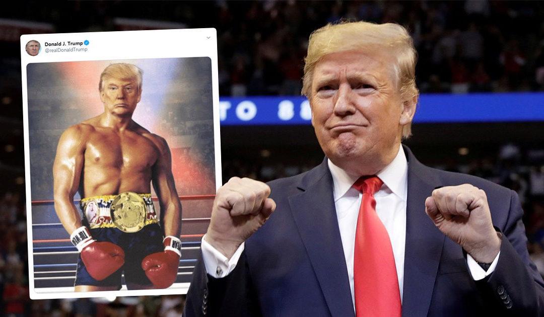 Donald Trump commentera la soirée de boxe qui verra samedi prochain le retour d'Evander Holyfield