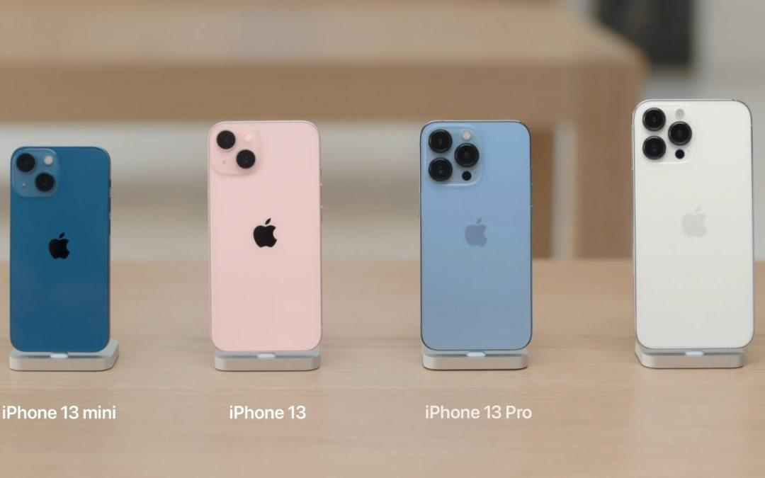 L'iPhone 13 est enfin sorti, il est temps d'acheter les anciennes versions !